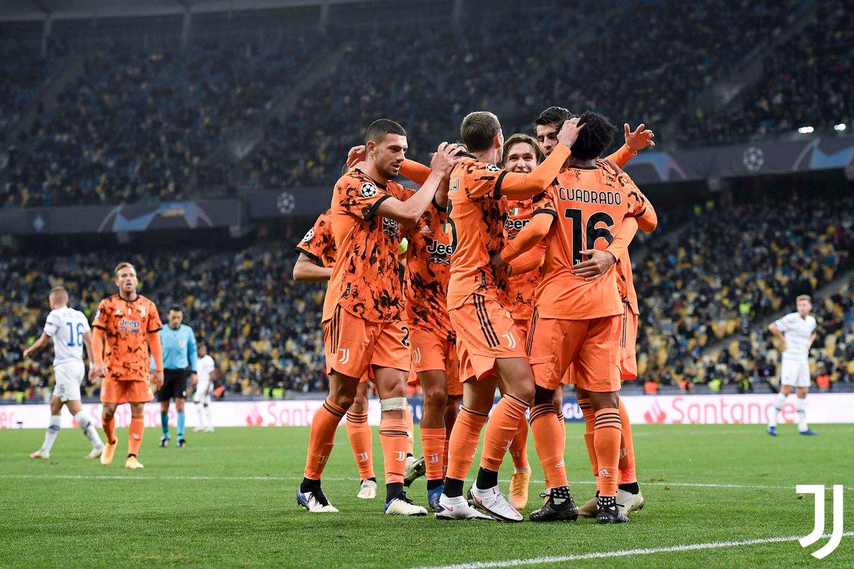 Juventus Beat Dynamo Kiev
