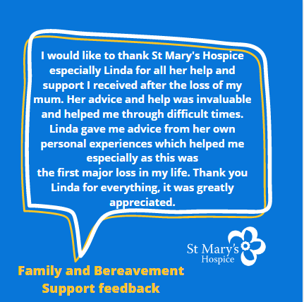 #feedback helps us keep #motivated, moving and improving! #Thankyou for your comments #hospicecare #soproud @hospiceuk #grief #bereavementsupport https://t.co/dBQjKrM3Fq https://t.co/4qo2PWd132