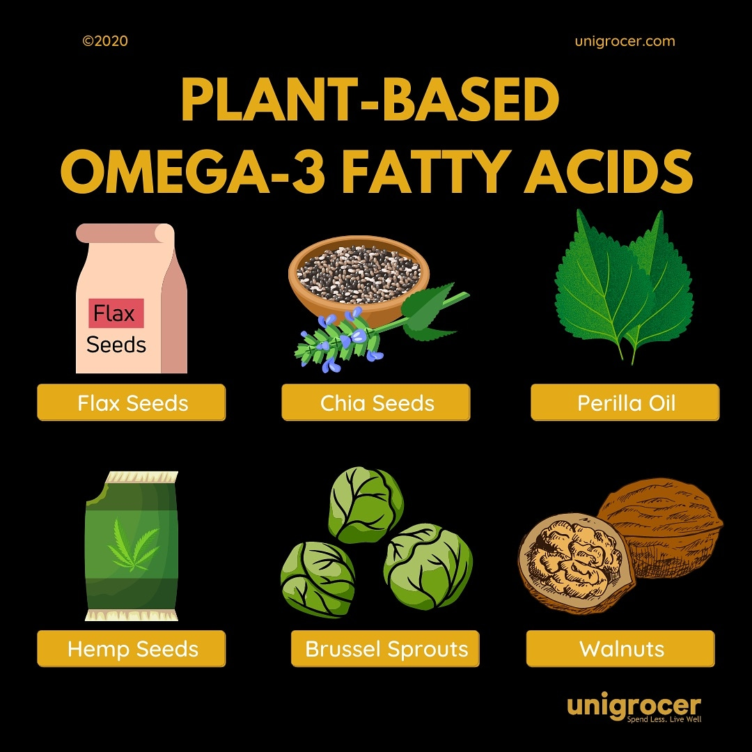 Omega-3 fatty acids are one of the important fats that is vital to health benefits. Research indicates that it reduces inflammation, decrease blood triglycerides and also reduce the risk of dementia. Fortunately, omega-3 can be obtained from Plant-based foods. https://t.co/Kug25MAzKr