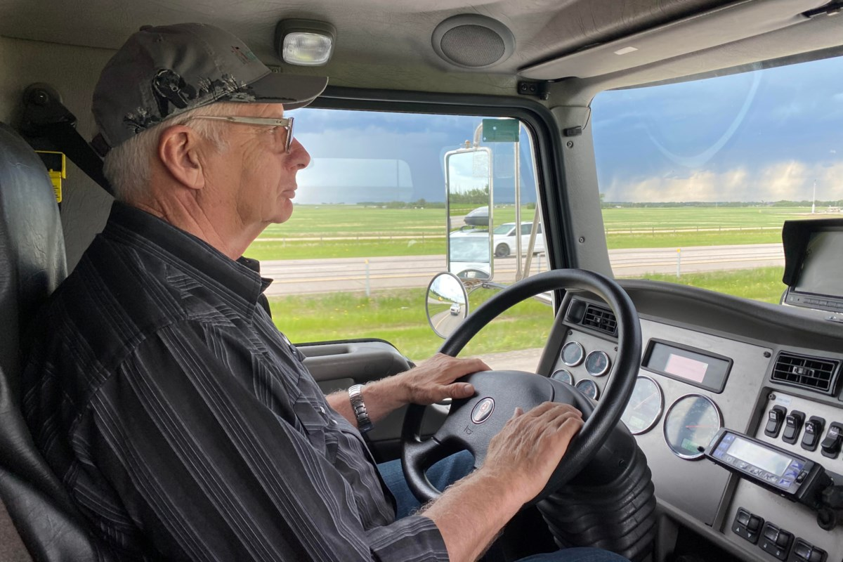 """Road is a refuge for semi truck driver during COVID-19  More: https://t.co/PxHSop39bI  A #Clear radio signal for a country station is sweet music to the ears of semi truck driver Bob Scriba. """"I prefer country. I like... #Edmonton #Gary #Many #Sherwood https://t.co/bniVi6Z9me"""