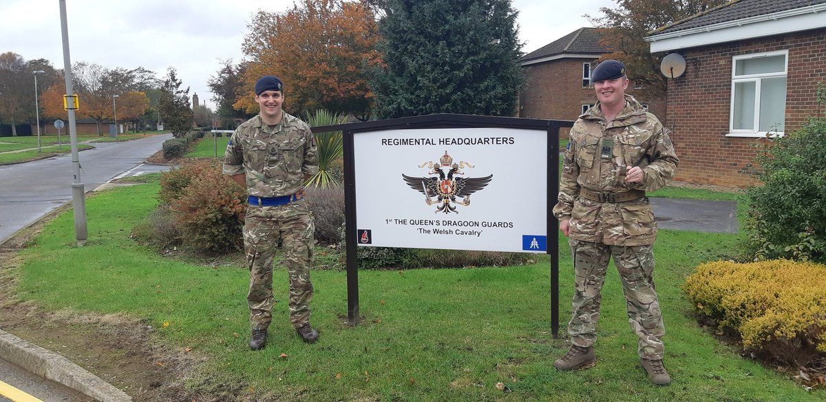 Great to have Cpl Platt rejoin the family @TheWelshCavalry, after 2 years in Civi Street. #Rejoin  #Forcemultipler  #Family  #Armyconfidence #miltwitter  Now let's prepare for Operations together! @BritishArmy https://t.co/RiS3NQFYZE