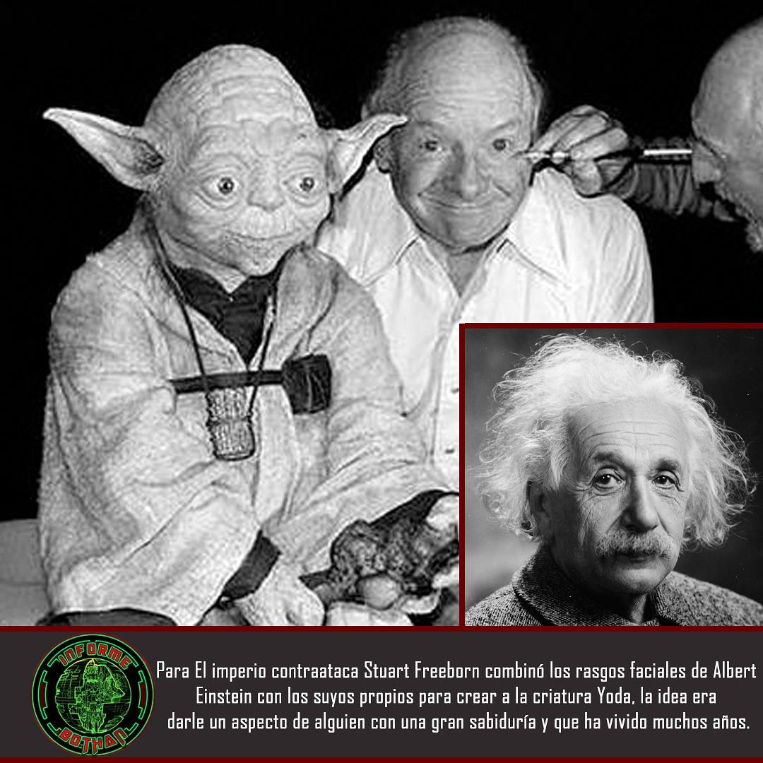 Hoy os traemos un nuevo #DatoBothan en esta ocasión hablamos de la creación de #Yoda para #ElImperioContraataca el 5° episodio y para muchos la mejor pelicula de #StarWars Próximamente publicaremos más datos traidos por nuestro espías de #InformeBothan https://t.co/rtsJSZJFWW