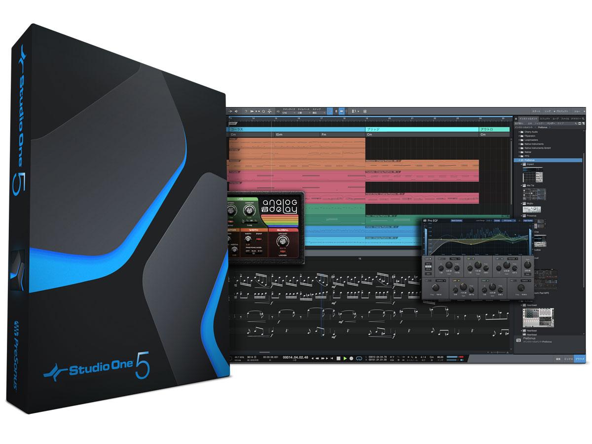 製品ニュース  PRESONUS Studio Oneが5.1にアップデート。印刷を含めたスコア機能強化やさかのぼりMIDIレコーディング機能などを追加  https://t.co/gOP2VEnOX2 https://t.co/CyCEeq6m8T