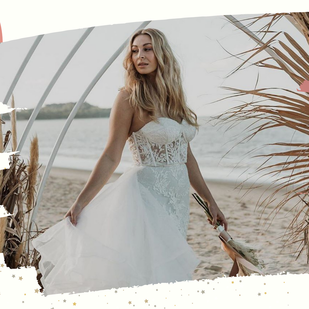 Shoulder length hair can be boho too!! texture, twist, and natives for today's beautiful bride.   If you love this natural effortless style contact shae@tropicalbeauty.com.au to secure your date for 2021 . . .  #MyWeddingCompare #WeddingHair #BridalHair #Bridal #Hair #WeddingBe https://t.co/rXHn7rNtgD
