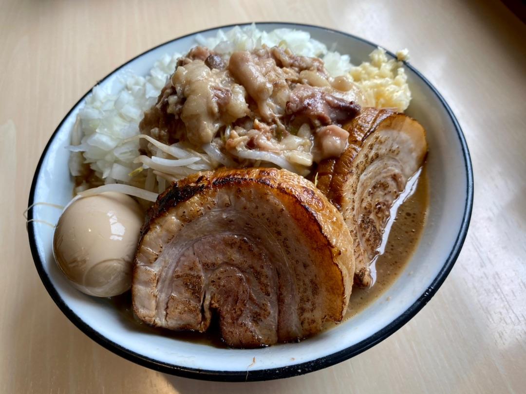 アメブロを投稿しました。157。火の豚本店@久喜市☆ラーメン➕タマネギ➕豚マシ#火の豚本店