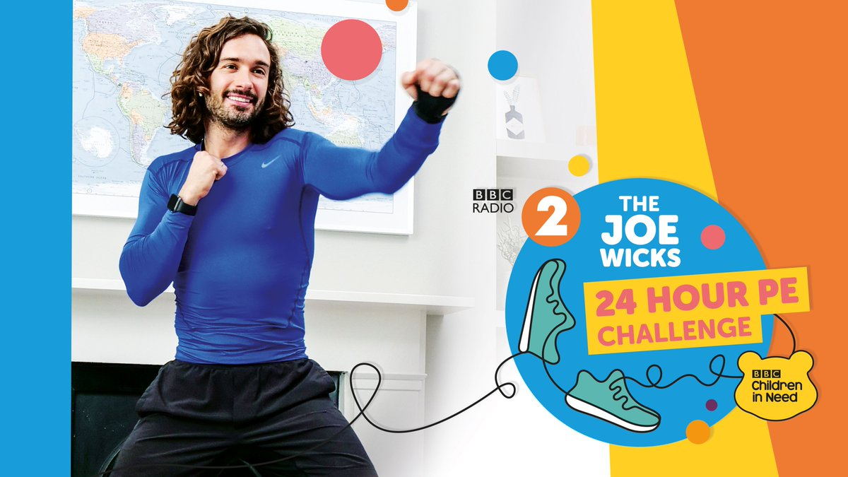 Just announced! 🚨  On Thursday November 12th our friend Joe Wicks (@thebodycoach) will be attempting to work out for an incredible 24 hours for our @BBCCiN 2020 challenge 🏋️‍♀️ 🤸‍♀️  Find out more about how you can get involved and support Joe in his efforts: https://t.co/AB3yMVEae0 https://t.co/RWbKmfpJuW