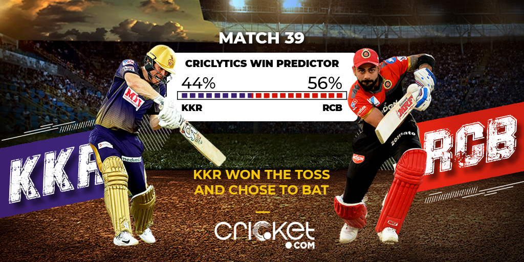 #KKR have won the toss and they've opted to bat first🏏  Two changes for the KNIGHTS. Tom Banton and Prasidh Krishna replace Russell and Mavi  One change for the ROYALS - Mohammad Siraj replaces Shahbaz Ahmed  Live Match Report: https://t.co/xFu9QG7AMY  #IPL2020 #RCBvsKKR https://t.co/bdUhf9mfRI
