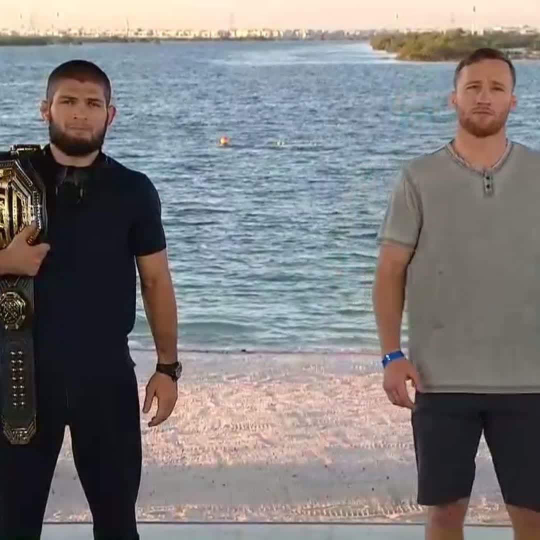 Even Justin Gaethje acknowledges this 'Champion vs Champion' tag is BS. there's only one ufc lightweight champion. #ufc254 https://t.co/pRIiHbtjxC