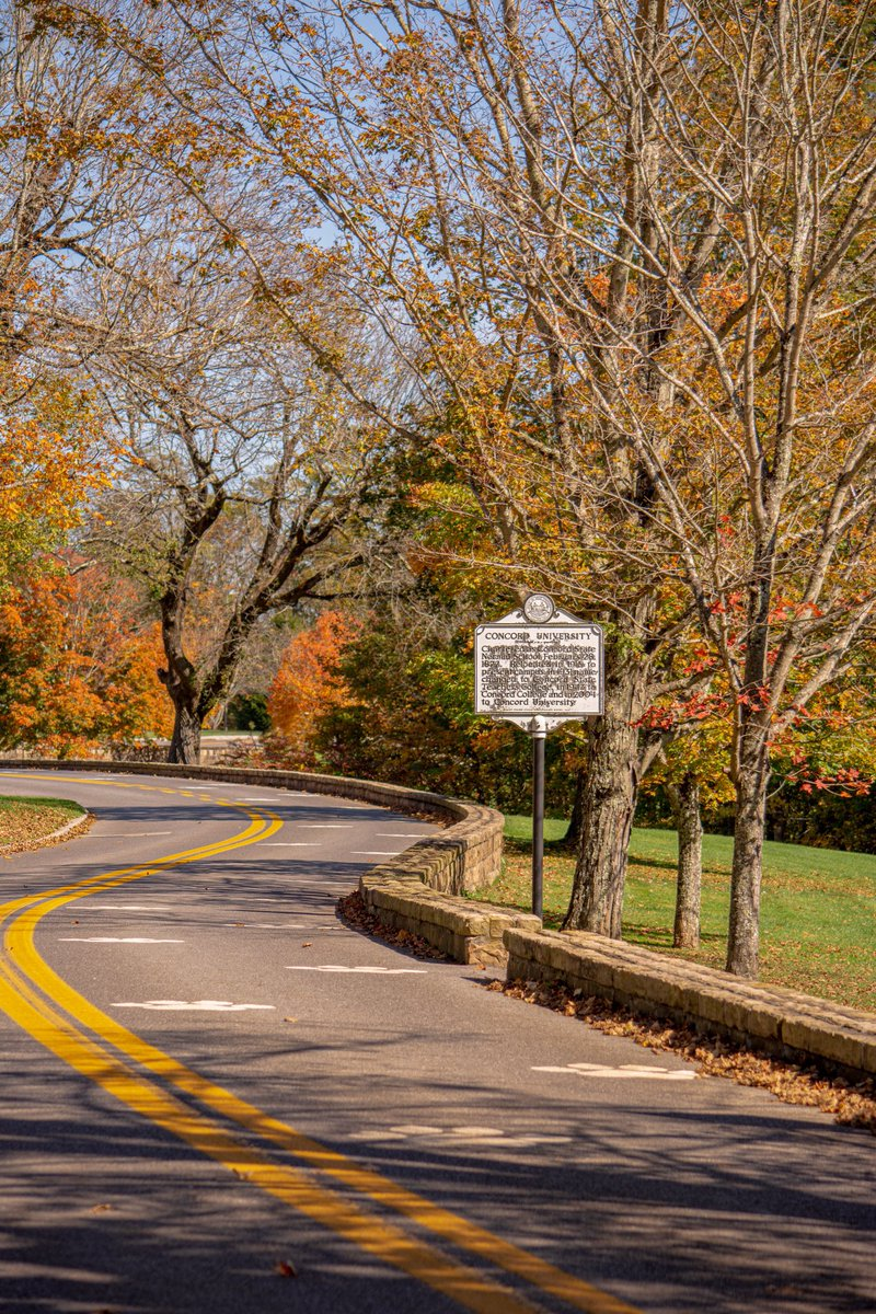 RT @CampusBeautiful: Country roads to The Campus Beautiful 🍂🍁 https://t.co/u1Tud86KQU