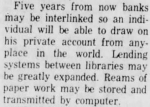 Published #otd in 1972: an explosive report about a new computer network that may revolutionize the future. ARPANET could one day let someone call up a computer which will give him money from his bank account. (v/@csmonitor) bit.ly/37tzx8A #Tbt
