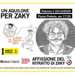 Image for the Tweet beginning: Un aquilone per Zaky arriva
