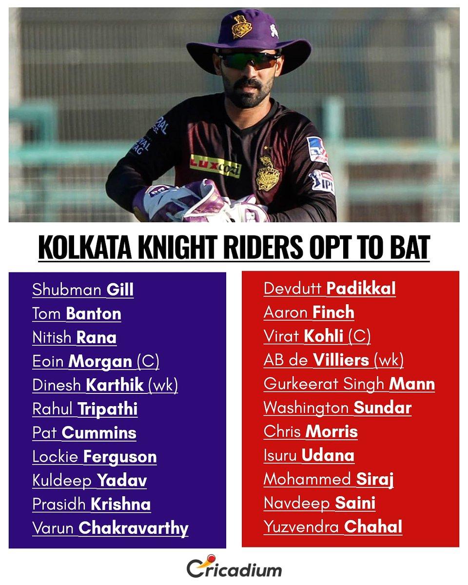 #KolkataKnightRiders  IN: Tom Banton | Prasidh Krishna  OUT: Shivam Mavi | Andre Russell  #RoyalChallangersBangalore  IN: Mohammed Siraj  OUT: Shahbaz Ahmed   #Dream11IPL #IPL2020 #KKRvsRCB #ViratKohli #EoinMorgan  (📸: IPL) https://t.co/AahcAQZrR7