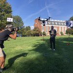 Thank you, @HPEnterprise's Laura Greene for capturing some great photos of our students participating in a drone obstacle course! Check out the photos on today's front page! 📰