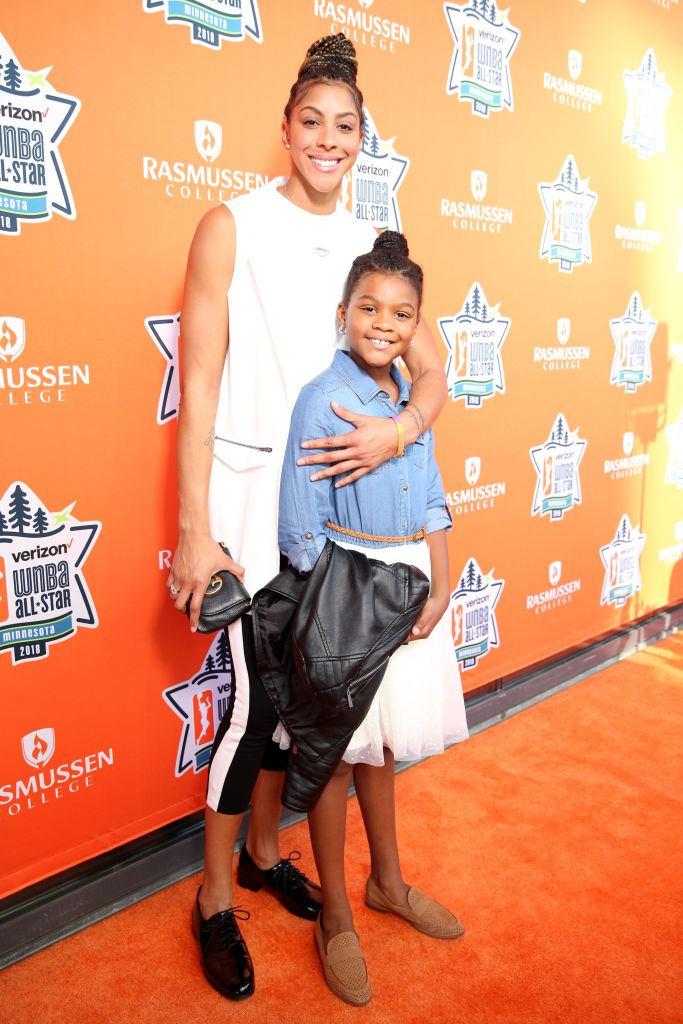Candace Parker and her daughter, Lailaa, have joined the ownership group of Los Angeles' new @NWSL team @weareangelcity   via @latimessports https://t.co/6aistR4kYs