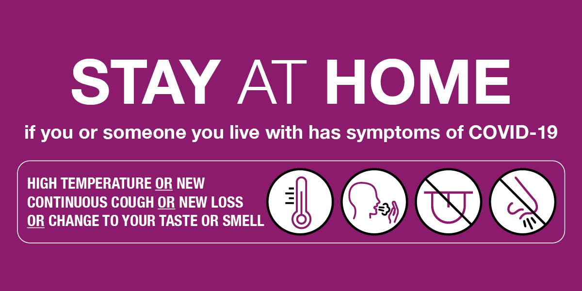 If you or someone you live with has symptoms of COVID-19   - high temperature 🌡️ - new continuous cough  - new loss or change to your taste or smell 🚫👅👃🏾  Act like you have it, stay at home and order a test. Visit: https://t.co/CSXpLahDAT or call 119 #KeepNewhamSafe https://t.co/px2DKJhom5