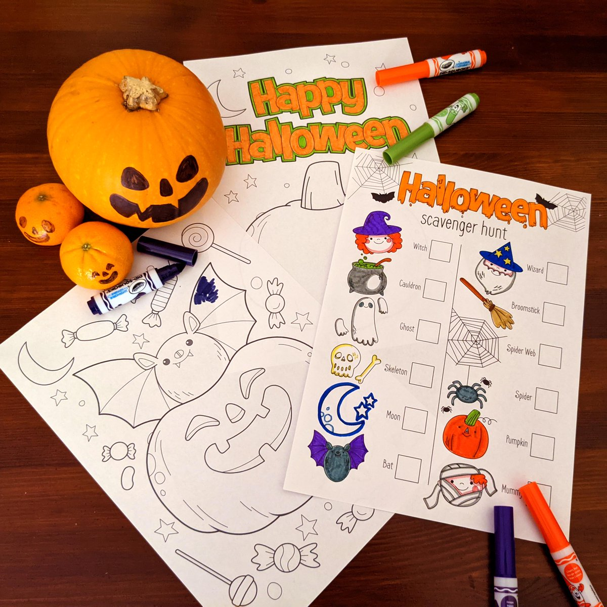 Get set for the spookiest season of them all with our free colouring in sheets, perfect for mini makers, big kids and adults alike!  Find everything you need: https://t.co/XxdV9DqsMD  #Halloween #FreeDownloads #Hobbycraft https://t.co/PkK8OgvfUP