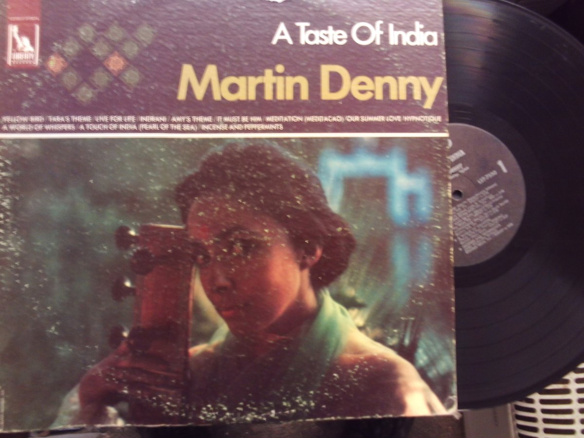 #NowPlaying   Martin Denny – A Taste Of India  (US Liberty Records #vinyl LP 1968)   https://t.co/OE4AYHa9F5  #sixties #pop #instrumentals #JetsetPop #SpaceAgePop #exotica #60smusic https://t.co/88VbkdKaPR