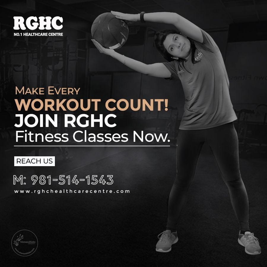 Remain healthy & fitness-freak with RGHC's daily workout activities and healthy diet plans. Follow our expert dieticians consultations and perform aerobics,yoga,zumba and other physical activities to burn your calories and get into shape  https://t.co/stGhfCnLMS  #fitness #rghc https://t.co/Efha4JC0jx
