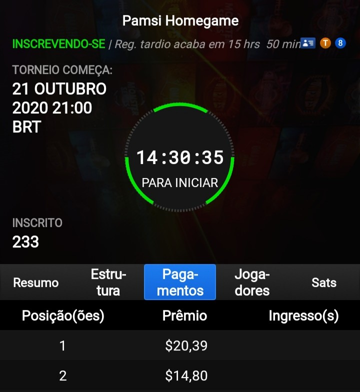 Pamsi Homegame @partypoker 21 de Outubro Senha< powerrangers #pokerstars #partypoker #poker #gamedev #onlinepoker #games #homeoffice #unarmed #TwitchStreamers #style #Motivation  #life #workout #BlackLivesMatter #IceCream #free #Btc #stream #wednesdaymorning #Dynamite #datelgbt https://t.co/rmY0nYSa5k
