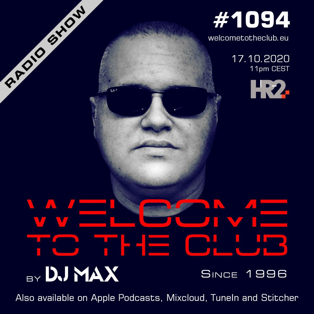 check out my Welcome To The Club #radioshow episode #1094 | premiered on HR2 last Saturday https://t.co/nqTCvqiIBp  #welcometotheclub  #djmax #electronicmusic #house #techhouse #clubbing #djlife #dj #radio #producer #croatia #ibiza #amsterdam #italy #uk #usa https://t.co/g3O7fjKejh