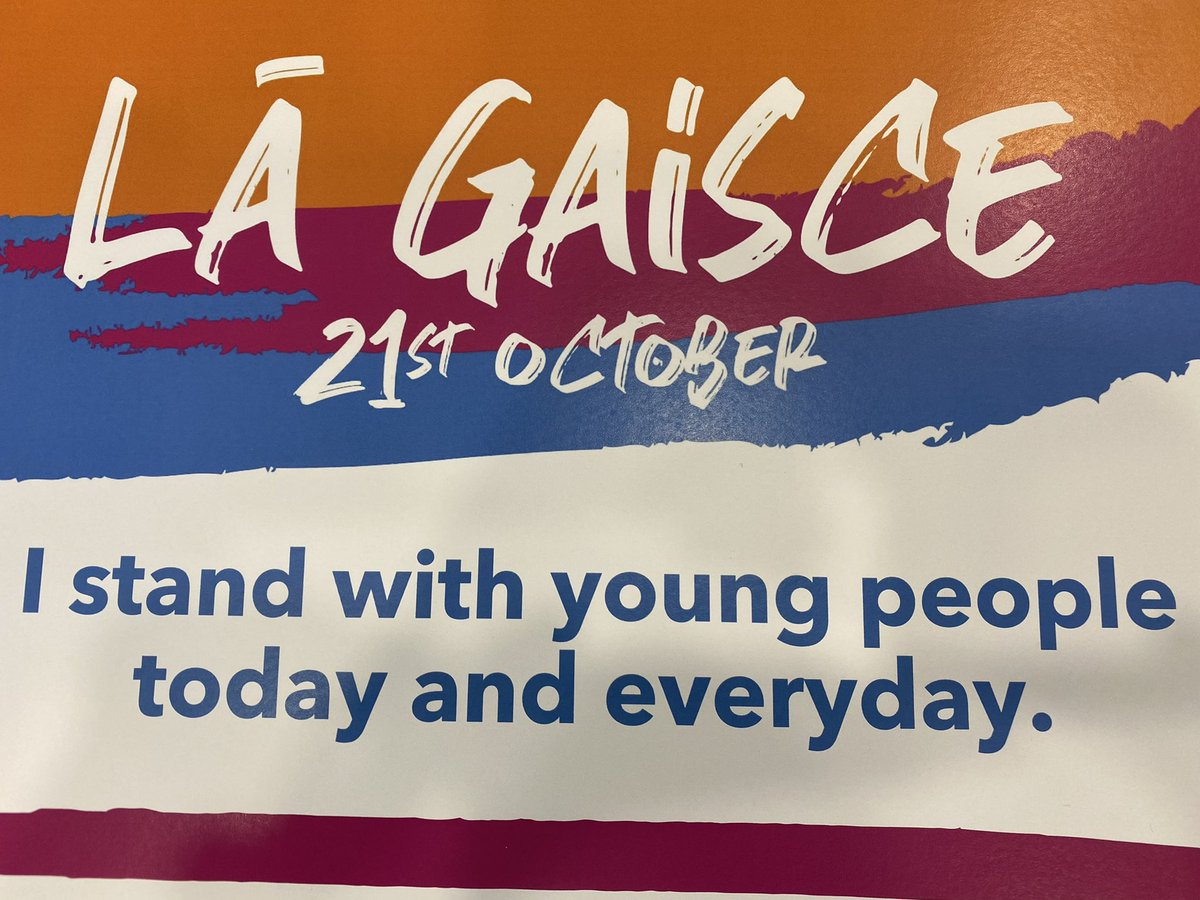 Today we celebrate Lá Gaisce and the important role that young people play in our communities. They have shown tremendous spirit, leadership & resilience throughout 2020. Congratulations to all involved in @GaisceAward #LáGaisce https://t.co/MZxOBUdqea