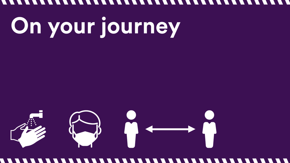 When travelling on public transport, keep in mind the advice below!⚠️😷 For the latest updates on services in the #WestMidlands, visit ➡️ https://t.co/h9ao58caA4 #HandsFaceSpace https://t.co/vCn3Ykh3C1