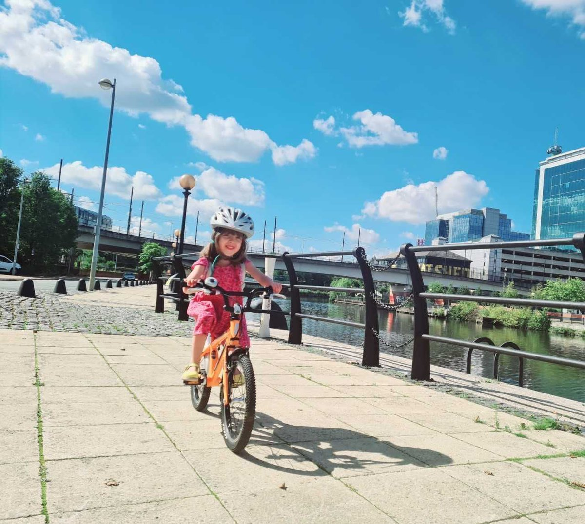 Learning to ride a #bike is an important milestone for any child   #Cycling can help to establish #healthy #exercise habits, improve #fitness & help maintain a positive mental attitude #Blackburn #Lancashire @East_LancsCC @blackburndarwen @CyclingUKNorth  https://t.co/oOeR3hL9WJ https://t.co/awO0FKE9MF