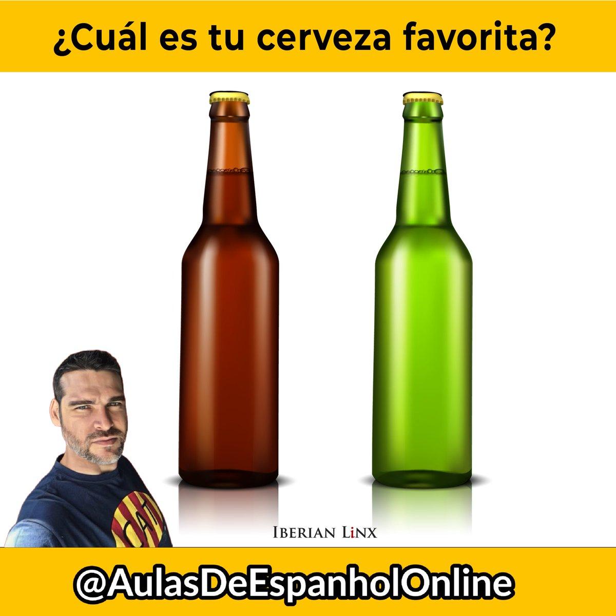 ¿Cuál es tu cerveza favorita?  #espanhol #aprendendoespanhol #estrelladamm #español #barcelona #espanholparaportugueses #spanishwordoftheday #xibeca #entrepreneurship #スペイン語 #bcn #seo #cerveza #cerveja #beer #ビア #birra https://t.co/0260uFn0Mo