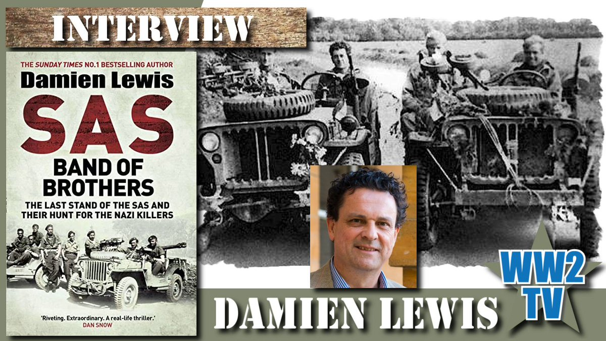 Major Eric Bill' Barkworth, of the SAS War Crimes Investigation Team, and Cpl Thomas 'Ginger' Jones just two of the men featured in Damien's brilliant new book.  @authordlewis   Join us Friday at 6.30pm (UK) https://t.co/eHvnLee192 #SAS #WW2 #SpecialForces #DDay #History https://t.co/H8Tmd7nL3q