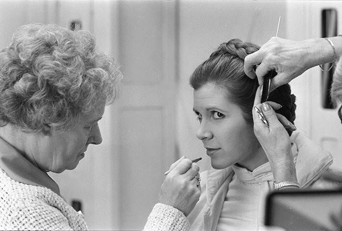 Happy birthday to our princess carrie fisher