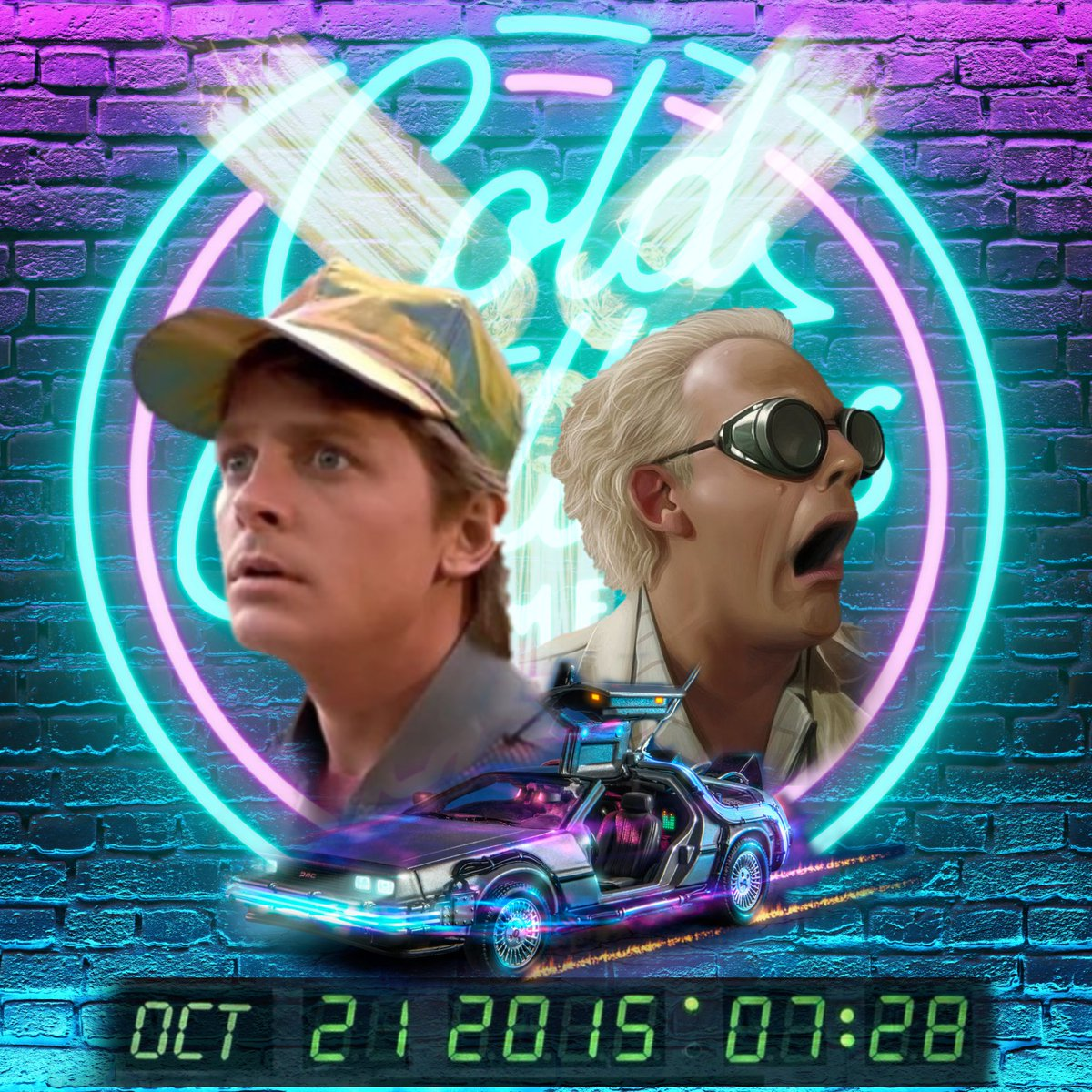 It's Back To The Future Day! Exactly 5 years since Doc & Marty visited 2015.  Still wondering where the flying cars and hoverboards are at.  #BackToTheFutureDay #podcast #comedypodcast #comedy #podernfamily #britpodscene #podnation #backtothefuture #doc #martymcfly #PodcastHQ https://t.co/bi8dmLYG8I