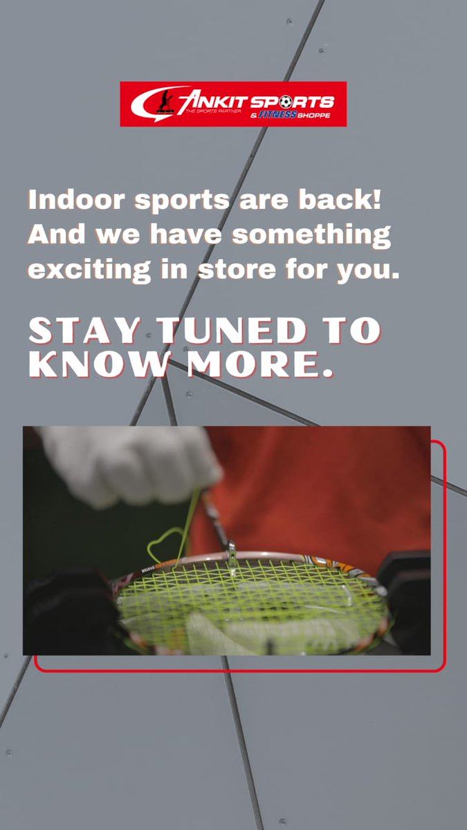 Stay tuned for more updates!  #sports #exercise #fitness #FitnessMotivation #gym #workout #workoutmotivation #ankitsports #thane  #Mumbai https://t.co/0kLngmUYUH