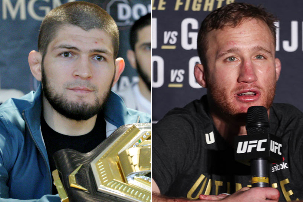 Video: Watch today's UFC 254 press conference with Khabib Nurmagomedov, Justin Gaethje (9 a.m. ET)   #UFCFightisland3 #UFC252 #UFCFightnight #Bellator242 #UFC253 https://t.co/jhY6XFqQSg