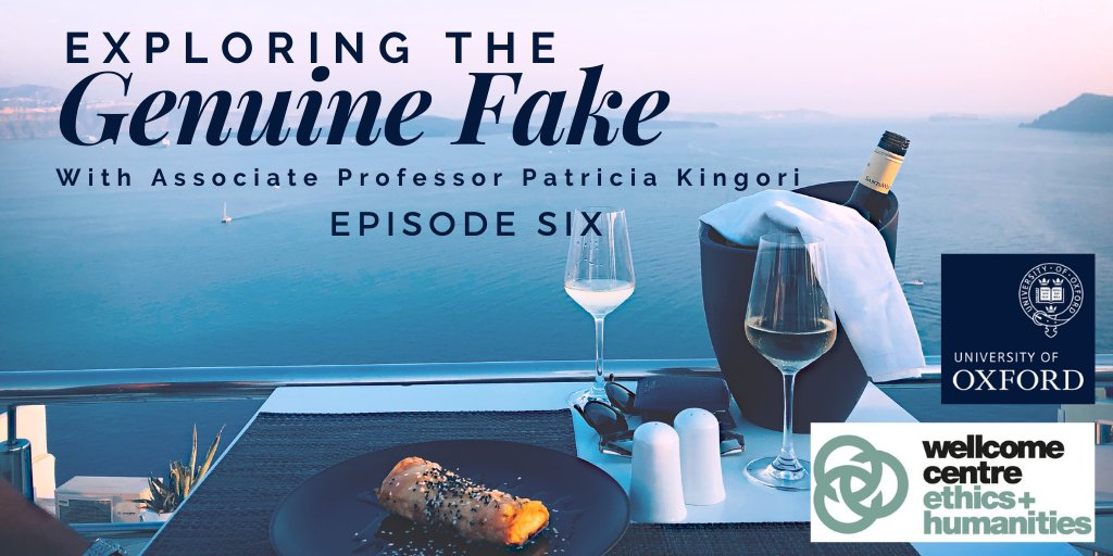 Check out episode 6 of #ExploringTheGenuineFake to hear from psychologist and online dating expert Madeleine Mason Roantree on genuine fakes in online dating profiles.  Listen 👉 https://t.co/Dhf3eUiAXV  @WEH_Oxford @SomervilleOx https://t.co/jc0J0Xqqfa