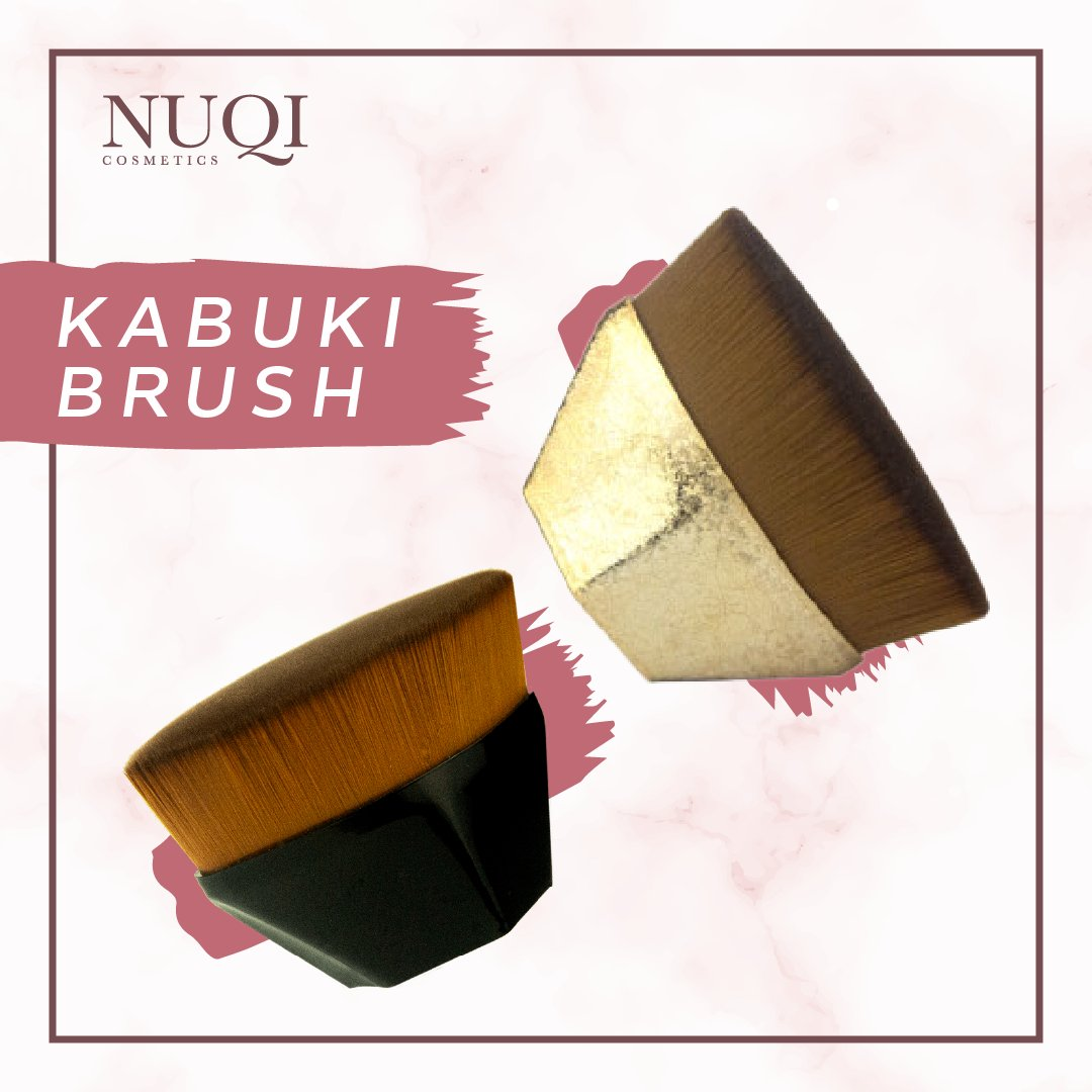 We take pride in producing the best quality kabuki brushes. We make sure our brushes provide the best application for your make up as well as still giving you the perfect healthy glow!#Nuqi #NuqiCosmetics #MakeUp #Cosmetics #KabukiBrushes #Vegan #CrueltyFree #Natural  #Glowing https://t.co/tkjWMiMrEC