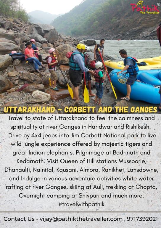 #Uttarakhand #Rishikesh #haridwar #ganges #corbett #Kedarnath #mussoorie #nainital #adenture #Spirituality #trekking #Camping #rafting #travelindia #Traveller #travelwithconfidence #travelwithpathik https://t.co/1XZhGks5z1