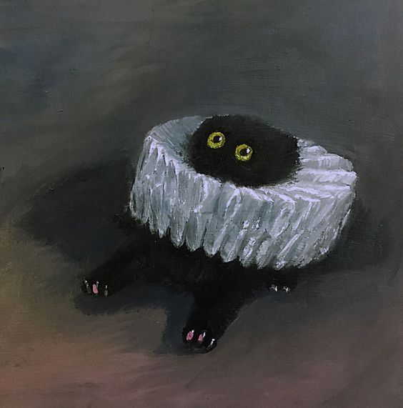 "When I hear people say: ""I am SHOOK"" In my mind: 😱😹 🎨Art by Vanessa Stockard #lol #funny #memes #blackcats #cats #animals https://t.co/g5y9LB1Lfy"