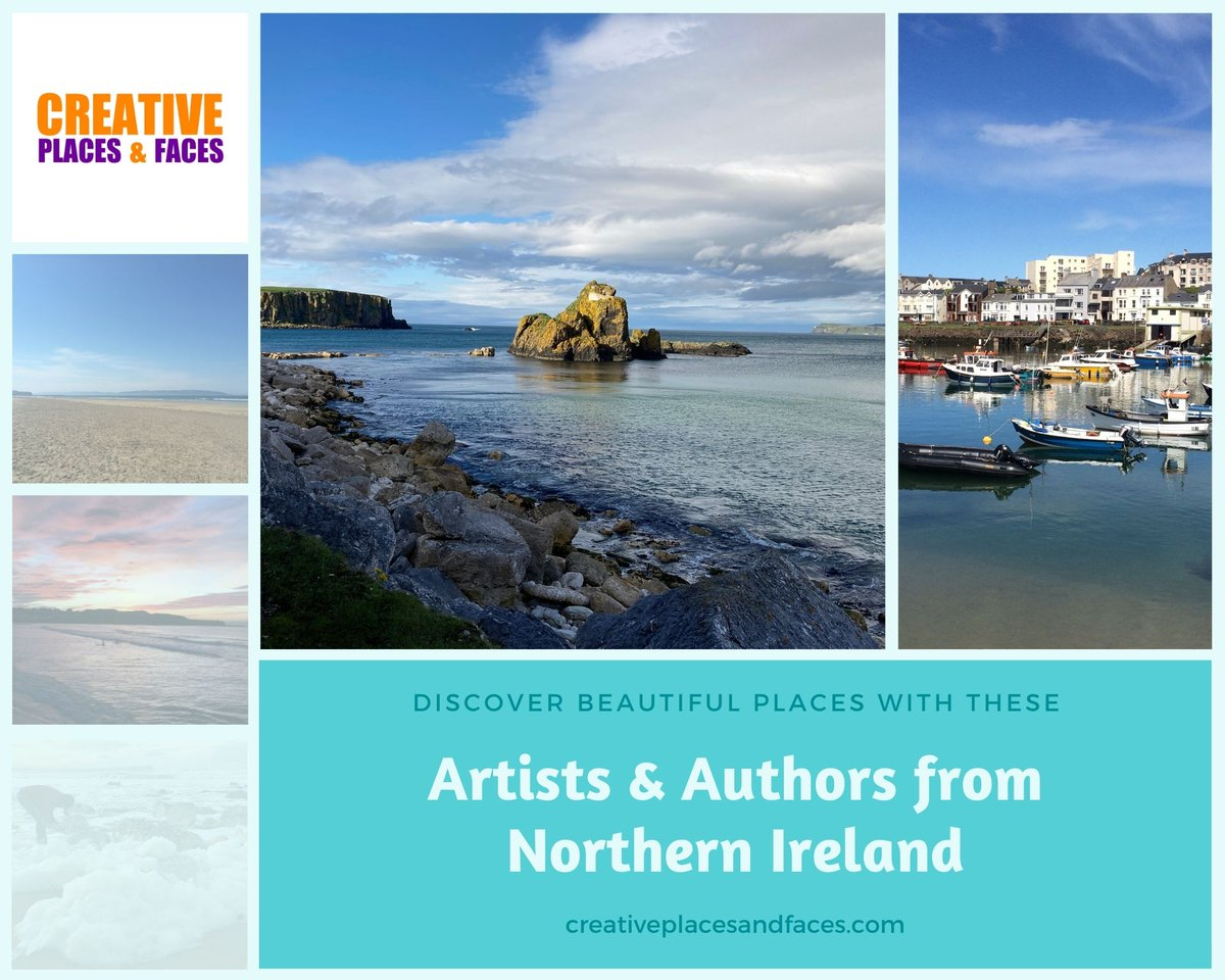 #Discovery of #beautiful places on this brand new #podcast Creative Places & Faces featuring top authors and artists revealing some of their most #inspirational locations -  @JanCarson7280 @aspencerglass @malodoherty @AnnYorkeSmyth @henrymcdonald https://t.co/bD0og0pTcu https://t.co/wGkbbU56Qf