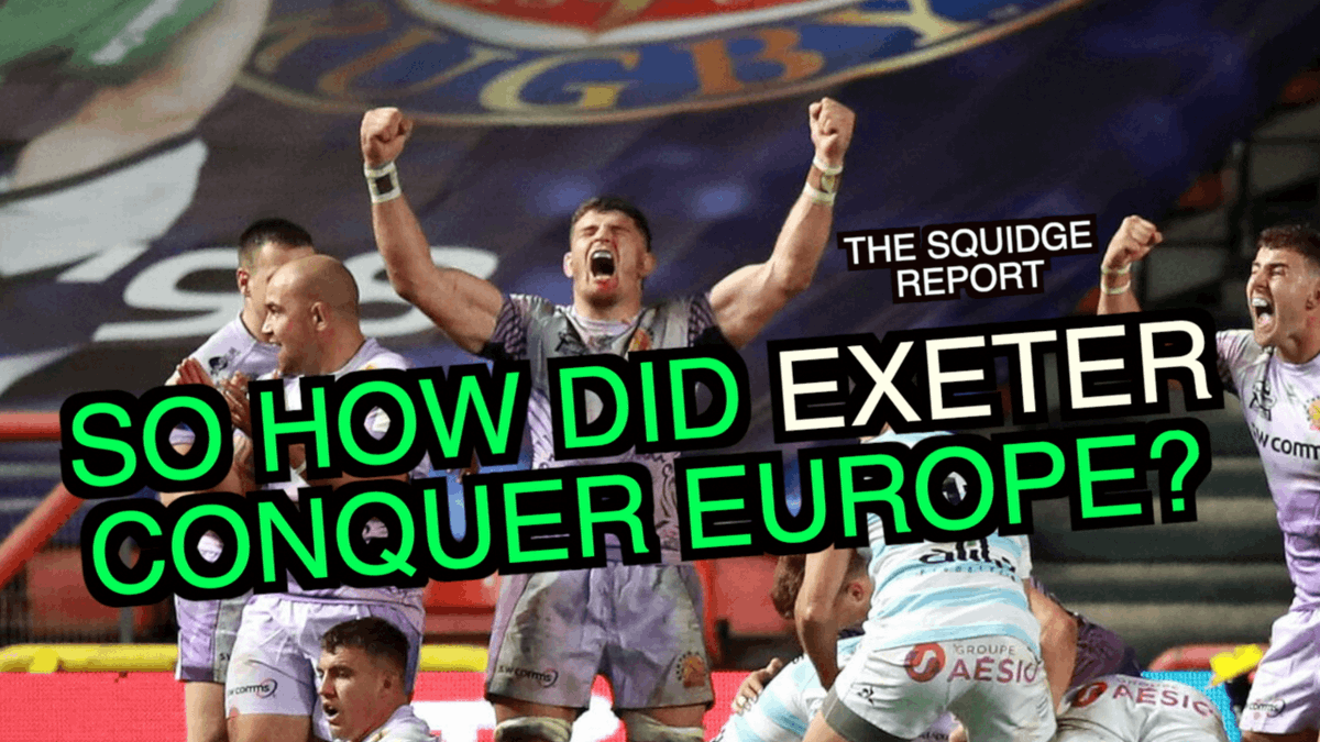 NEW VIDEO: Ten years ago, they were written off, 1-2 favourites for relegation. On Saturday, they were crowned the best team in Europe. But how did Rob Baxter's Exeter see off the challenge off Racing 92 and complete a remarkable 12-year journey? https://t.co/2wvGbD1Up5 https://t.co/Pf2LWoSwrc