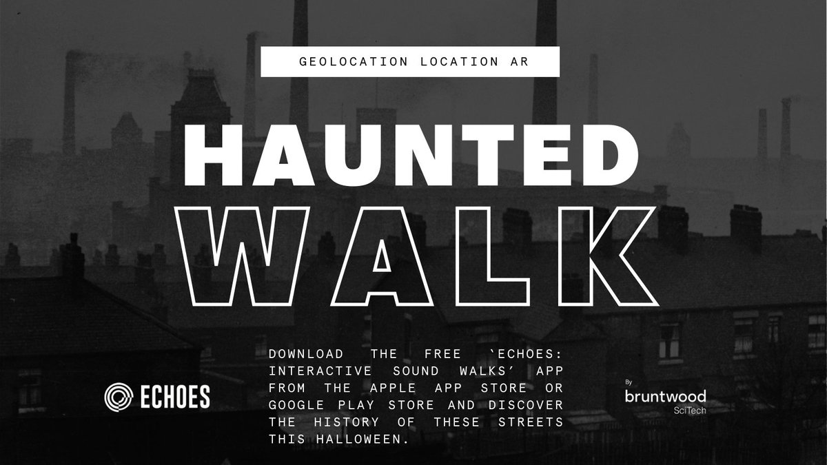 We're helping our #Manchester customers get ready for #Halloween with an #AR guided haunted walk. 👻  From 26th Oct discover Manchester's dark past with our geolocation-activated audio tour by @skylinermcr 👉 Start at Bright Building, Manchester Technology Centre and Citylabs 1.0 https://t.co/Ot5OLCGXcU