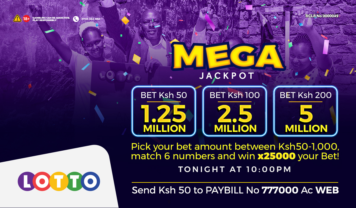 Two Millionaires in October already! Tutampata 3rd Millionaire leo? Shinda Mega Jackpots kutoka 1.25M hadi 25M uki Match 6 numbers! Jaribu bahati yako. Tuma SH 50-1K to Paybill 777000 AC WEB au cheza online @http://mylottokenya.co.ke https://t.co/vWRGi1sT7r