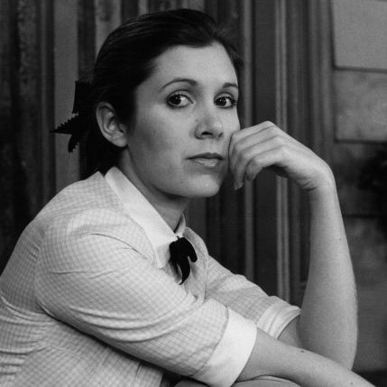 Happy birthday, carrie fisher. i love you.
