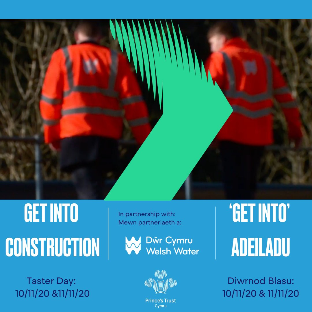 Anyone interested in being considered should now sign up for the Taster Day which will be taking place on Tuesday 10th & Wednesday 11th November 2020. Please contact our Customer Service Team on 0800 842 842 to register interest. #welshwater #princestrust #servingthosewhoservedus https://t.co/sNUibrVH5W