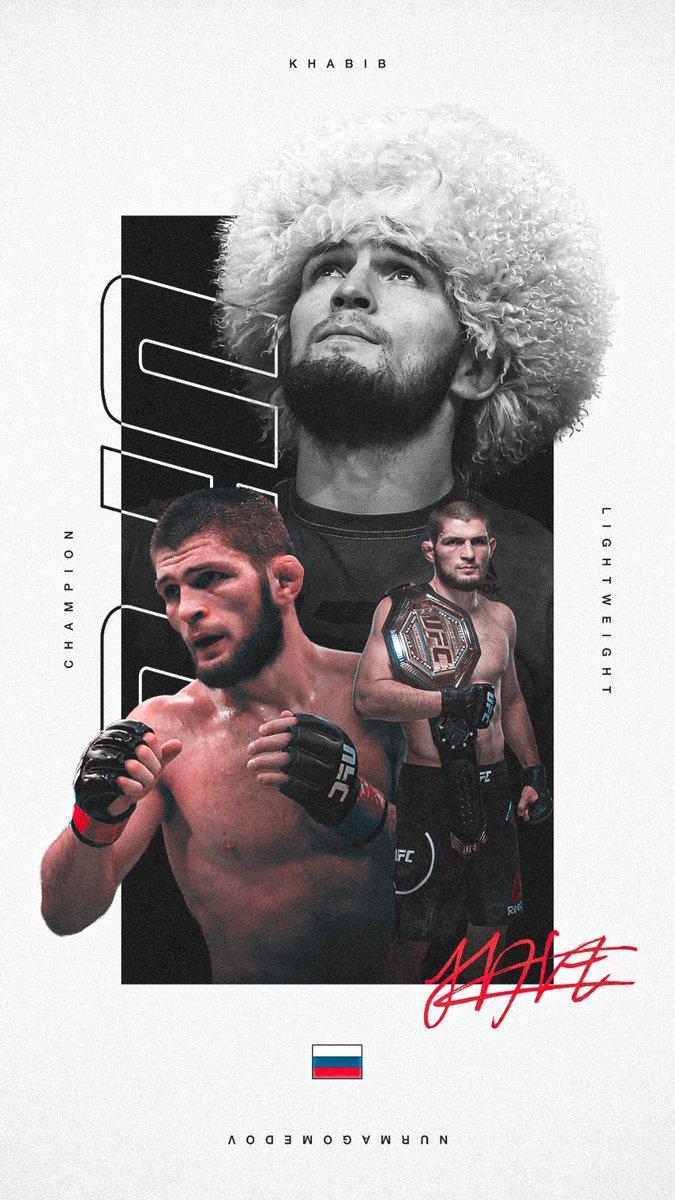 Khabib 🇷🇺 Gaethje 🇺🇸 Whittaker 🇦🇺 Cannonier 🇺🇸  Your #WallpaperWednesday artwork has a #UFC254 vibe 😎 https://t.co/xWCMsa9Qte