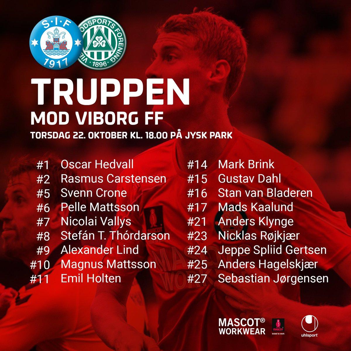 Der er tre nye ansigter hos @SilkeborgIF, der torsdag på JYSK park møder @viborgff i sæsonens første topopgør. Ind i forhold til 5-1 sejren i Hvidovre i fredags er trådt Stefán Teitur Thórdarson, Nicolai Vallys og Gustav Dahl. #sifvff #1div #topkamp https://t.co/3Wej73EaO8