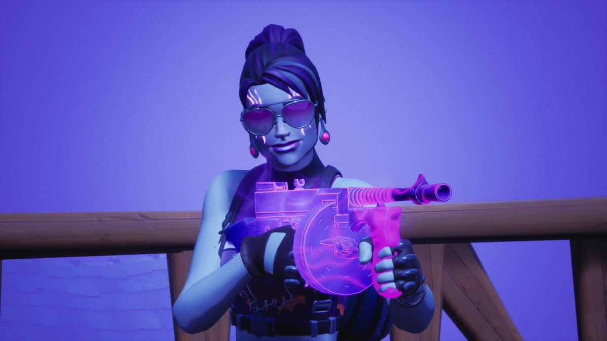 💜 Nightsurf Bomber showing off Fortnitemare weapons 💜  #Fortnite #Fortnitemares #FortniteChapter2 #Fortnitephotography https://t.co/aotKDWyhJB