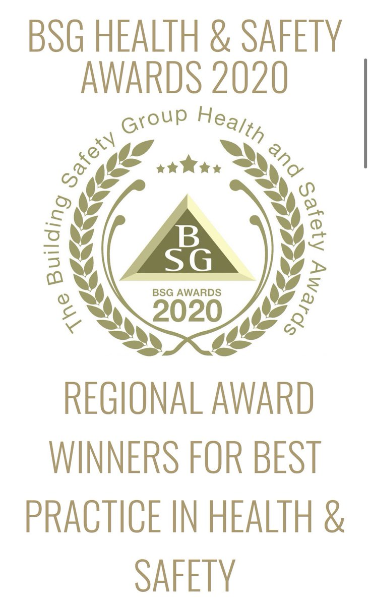 Congratulations to Greencore Construction, our build partner at Springfield Meadows For winning highly commended for the BSG health and safety awards 2020 #BSG #safetyfirst  #springfieldmeadows #oxfordshire #GreencoreConstruction @greencorehomes https://t.co/ZPncYIZqzo