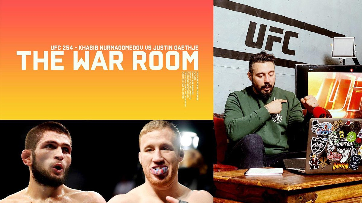 Please check out #WarRoom before #UFC254 gets underway!   https://t.co/Kj1akpegnp https://t.co/wTTMkWEIGj