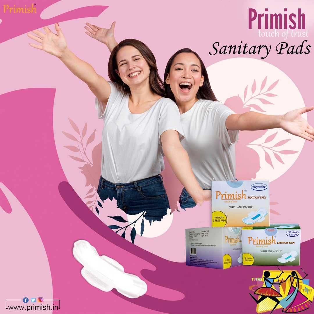 𝐓𝐨𝐮𝐜𝐡 𝐎𝐟 𝐓𝐫𝐮𝐬𝐭 𝐒𝐚𝐧𝐢𝐭𝐚𝐫𝐲 𝐏𝐚𝐝𝐬 #sanitaryPads #personalcare #periods #periodproblems #primish #womencare #pads #womenempowerment #protection  𝐒𝐡𝐨𝐩 𝐍𝐨𝐰 https://t.co/1Ta2eYrx0e https://t.co/TkoE3ntzYg
