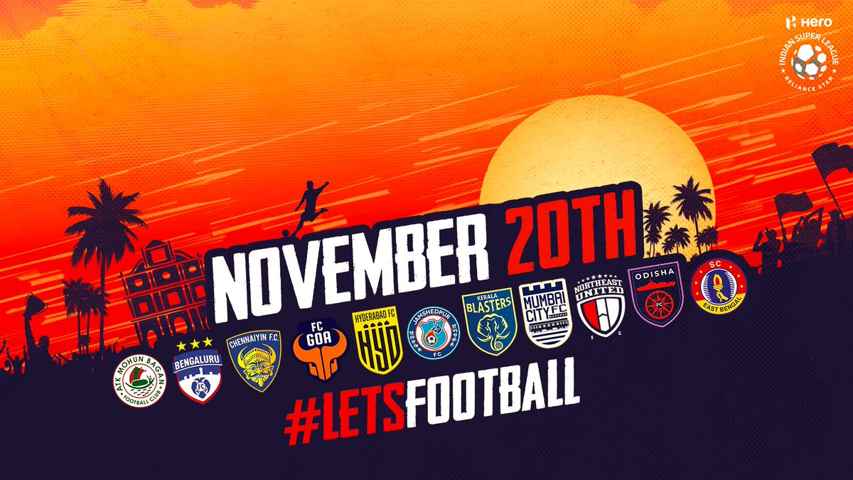 #HeroISL 2020-21 - Mark your 🗓️  Less than a month to go ⏳ https://t.co/JUVTA3Svrq
